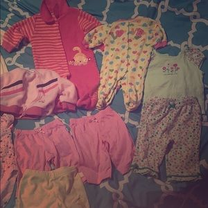 Other - 19 pc 0-6 months baby girl clothes bundle